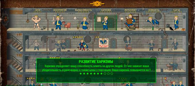 Fallout 4 Перки харизмы