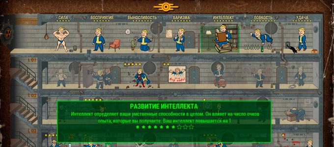 Fallout 4 Перки интеллекта