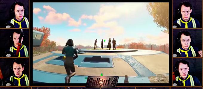Главная музыкальная тема Fallout 4 акапельно фоллаут 4