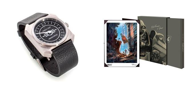 Часы Vault-tec — 1500 штук, Арт-бук — 5000 штук