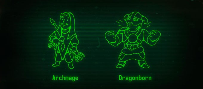 Коллажи волтбоя в стиле TES Fallout 4 фоллаут 4