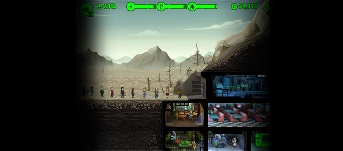 Симулятор убежища Fallout Shelter для iOS фоллаут шелтер