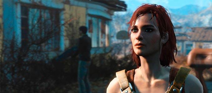 Fallout 4 Кейт (спутники, отношенния, квест, напарник, комапаньон)