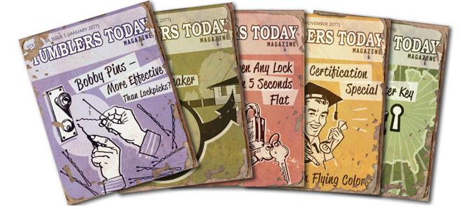"""Где найти все выпуски журнала """"Современные замки"""" в Fallout 4 (гайд)"""