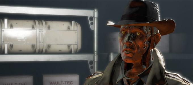 Детектив Ник Валентайн в Fallout 4