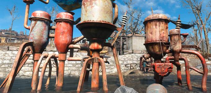 Вода в Fallout 4