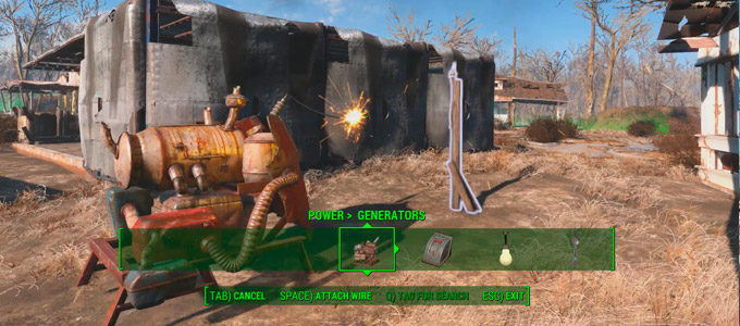 Энергия в Fallout 4