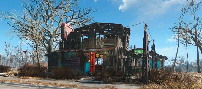 Строительство и защита поселений в Fallout 4