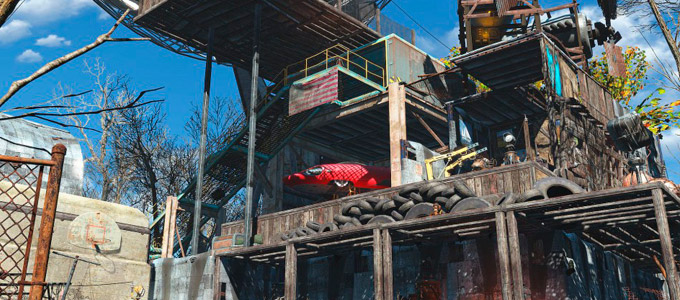 Легкое строительство в Fallout 4