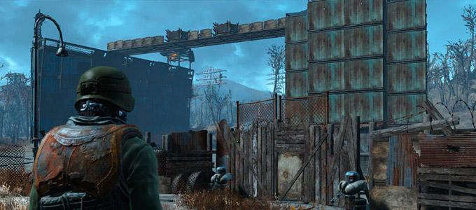 Защита Замка в Fallout 4