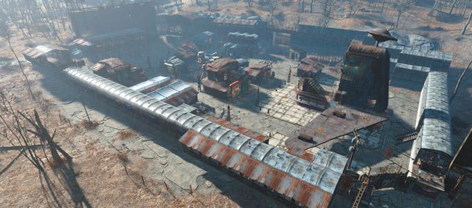 Поселения в Fallout 4