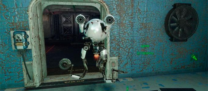 Компаньон Кюри в Fallout 4