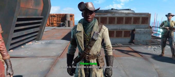 Минитмены Fallout 4