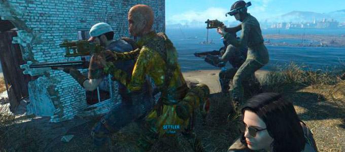"Fallout 4 Мод ""Улучшенные жители V0.95a"""