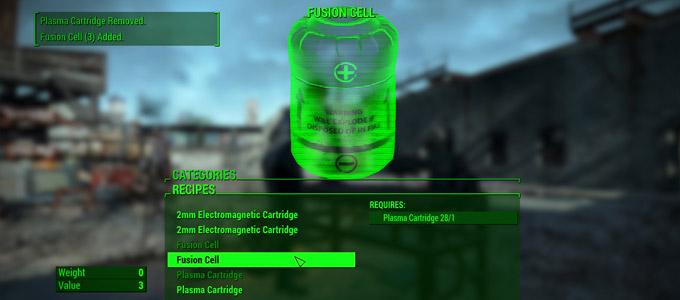 Мод для крафта боеприпасов «Craftable Ammunition» Fallout 4м