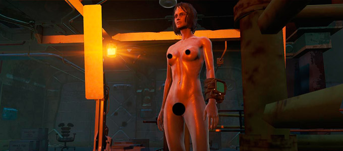 NUCLEAR Nude мод для Fallout 4