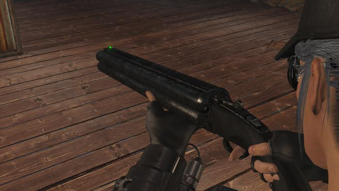 Fallout 4 Мод оружия Quad-Barrel Shotgun