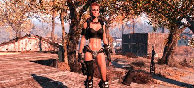Fallout 4 Мод Штурмовая броня Тень IV «Shade Assault Armour IV»