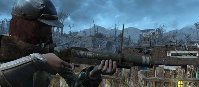 "Fallout 4 Мод ""Гранатомёт M79 V1.79"""