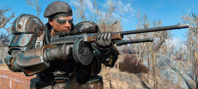 Fallout 4 Мод «Длинные стволы и сошки / More Bipod And Sniper Barrel — Bipod and Extra Long Barrel For All Rifle»