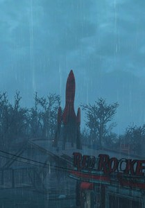 Мод смены погоды в Fallout 4 True Storms Wasteland Edition