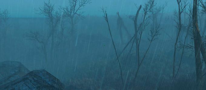 Fallout 4 Реальные звуки дождя и грома / Louder Rainy Sound