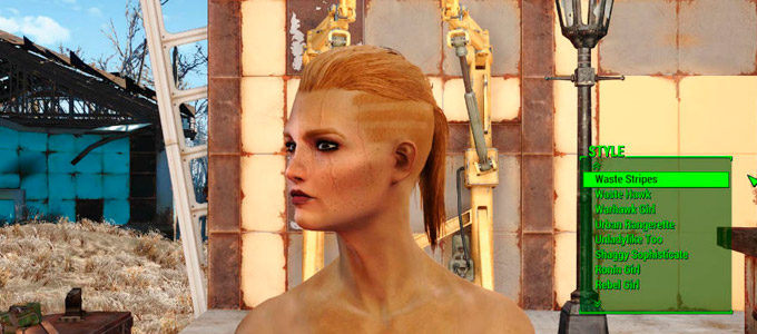 Fallout 4 Женские прически / Lots More Female Hairstyles