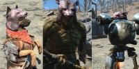 Шлем из головы медведя Fallout 4