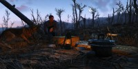Fallout 4 Мод Походный лагерь / Camping Supplies