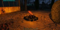 Fallout 4 Мод Изготавливаемые костры и камины / Buildable Burning Campfires