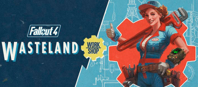 Wasteland Workshop Трейлер для Fallout 4