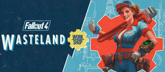 Wasteland Workshop Трейлер для Fallout 4