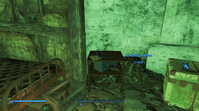 """Fallout 4 Far Harbor журналы """"Альманах островитянина"""", расположение всех журналов"""