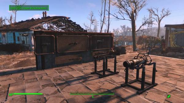 Fallout 4 Contraptions Workshop обзор