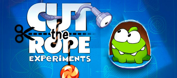 Cut the Rope: Experiments - обзор игры (планшет)