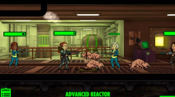 Fallout Shelter тактика защиты убежища от нападения
