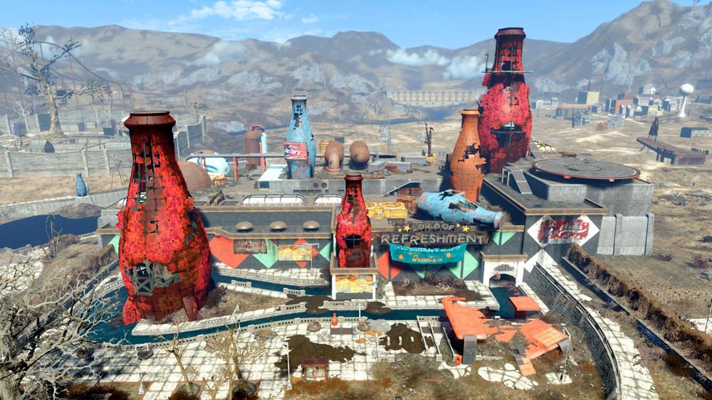 Fallout 4 Nuka-World поселение