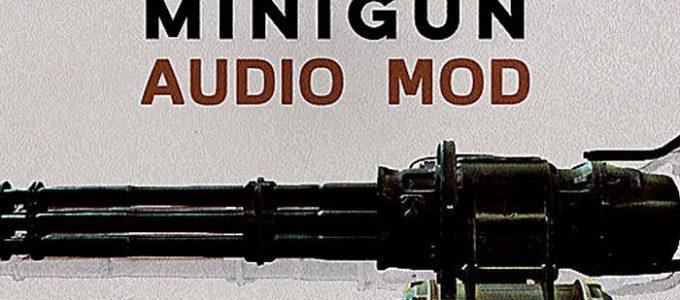 Новый звук Миниган Моды для Fallout 4 / Фоллаут 4