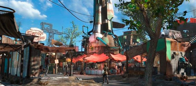 Даймонд-Сити улучшение Моды для Fallout 4 / Фоллаут 4