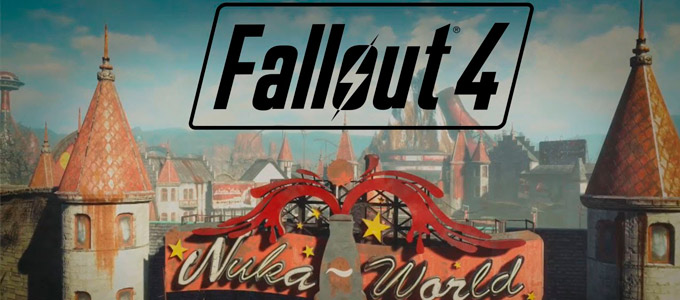 Fallout 4 Nuka-World Силовая броня и Оружие, Костюмы
