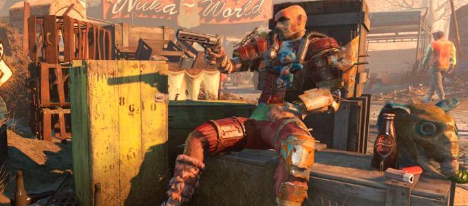 Прохождение Fallout 4 Nuka-World Часть 1 Фоллаут 4 Нюка Ворлд
