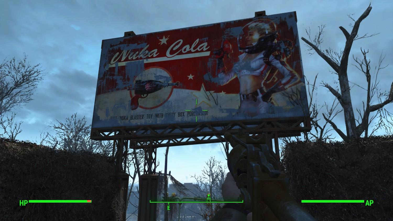 """""""Ядер-Колы"""" в Fallout 4 Nuka-World"""