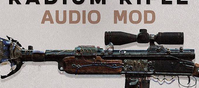 Новый звук Радиевый карабин Моды для Fallout 4 / Фоллаут 4