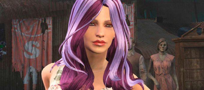 Цветные прически Содружества Моды для Fallout 4 / Фоллаут 4