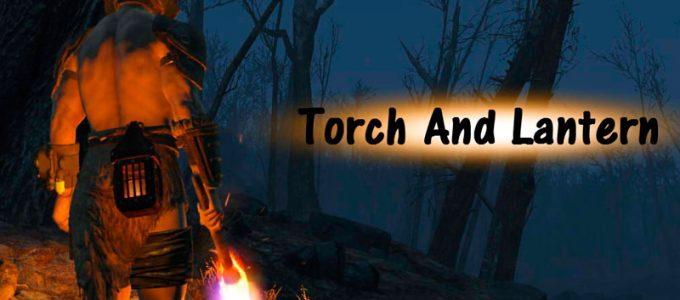 Факел и фонари Броня и Одежда Моды для Fallout 4 / Фоллаут 4