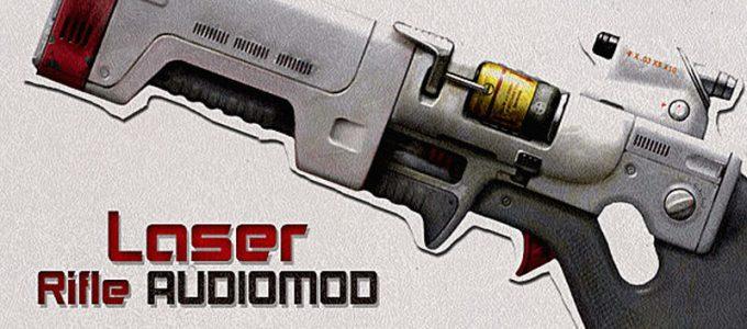 Новый звук Лазерная винтовка Моды для Fallout 4 / Фоллаут 4