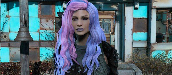 Разноцветные прически Содружества Моды для Fallout 4 / Фоллаут 4