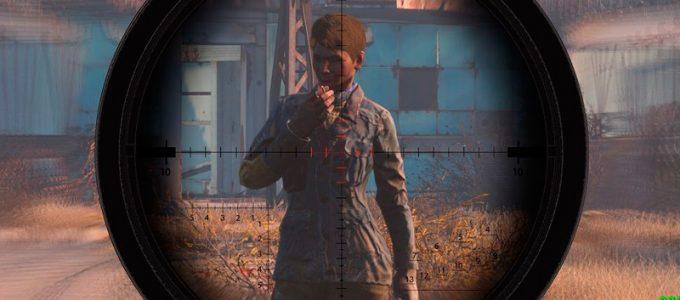 Размытие прицела Геймплей Моды для Fallout 4 / Фоллаут 4