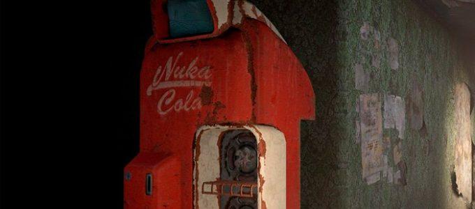 HD Машина Ядер-Колы Текстуры Моды для Fallout 4 / Фоллаут 4