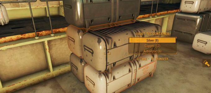"""Лутабельные контейнеры """"Волт-Тек"""" Геймплей Моды для Fallout 4 / Фоллаут 4"""